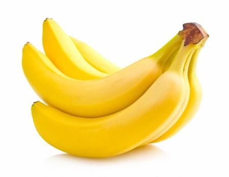 platano maduro: racimo de banano Foto de archivo