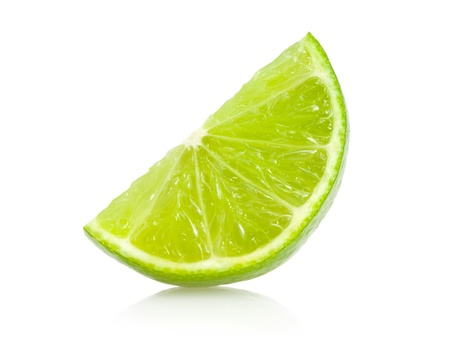 lime: lime slice Stock Photo