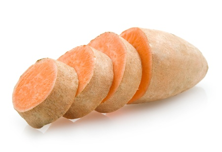 sweet potato Standard-Bild