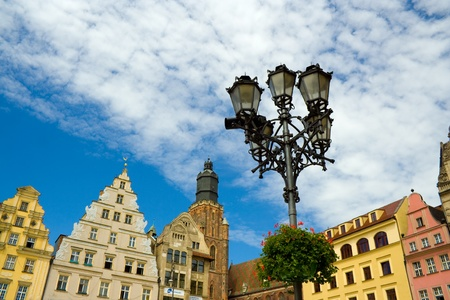wroclaw: market square in Wroclaw