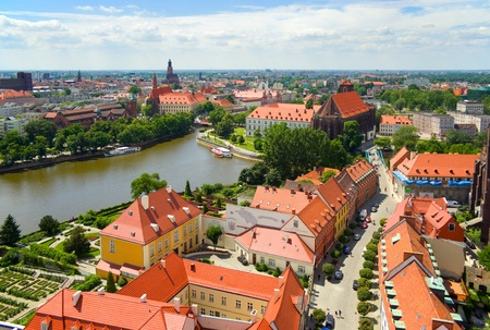 wroclaw Standard-Bild
