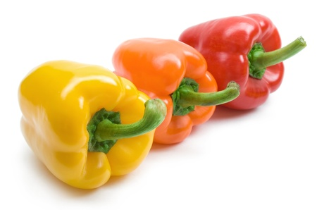 bell pepper: colourful paprika