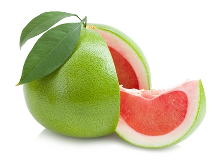 red pomelo Stock Photo