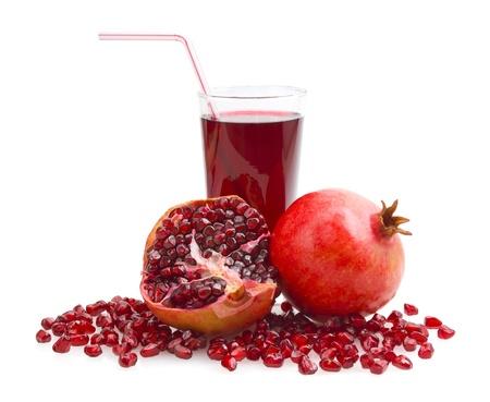 pomegranate juice Standard-Bild