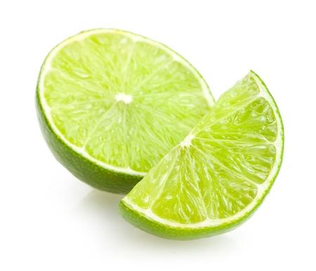 lime slices Standard-Bild