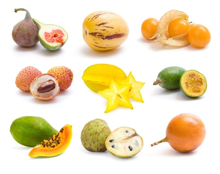 pepino: exotic fruit collection