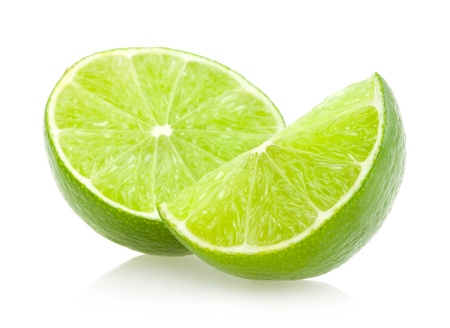lime slice: lime slices Stock Photo