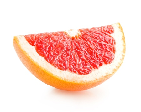 grapefruit: grapefruit slice Stock Photo