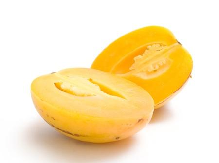 pepino: ripe pepino Stock Photo