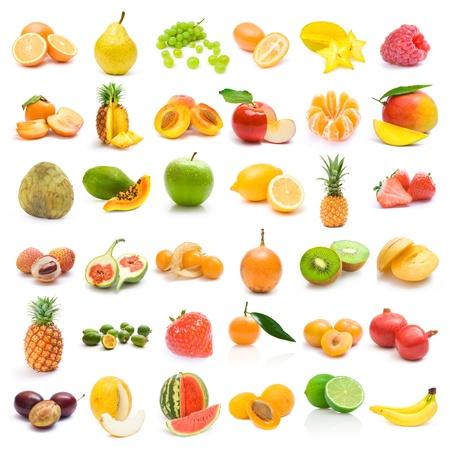 fruit collection 免版税图像