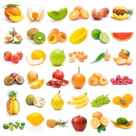mango fruta: Colecci�n de frutas
