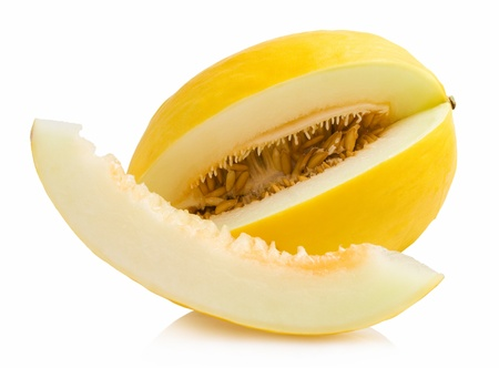 honeydew: honeydew melon Stock Photo