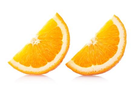 naranjas fruta: rodajas de naranja