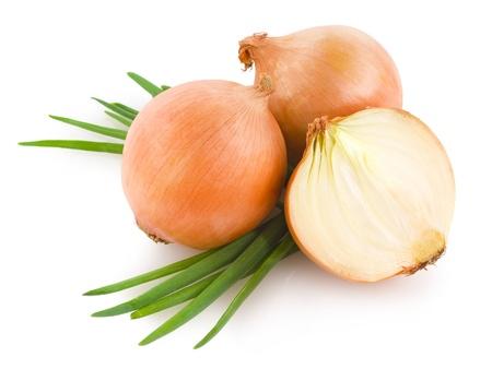 cebolla blanca: cebollas Foto de archivo