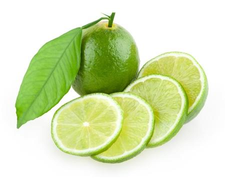 fresh lime Standard-Bild
