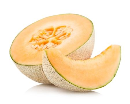 Cantaloupe-Melone Standard-Bild - 12670915