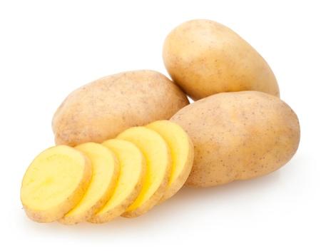 potatoes 免版税图像