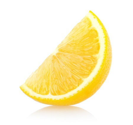 sweet and sour: lemon slice