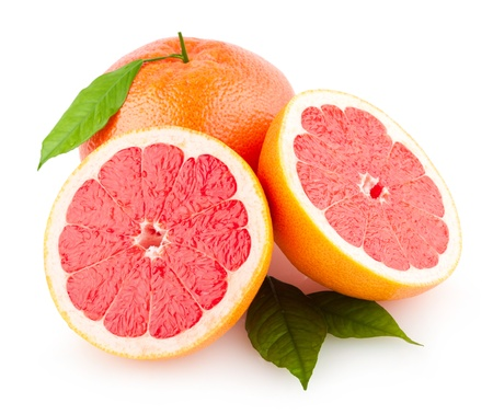 ripe grapefruits photo