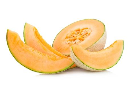 cantaloupe melon Stock Photo
