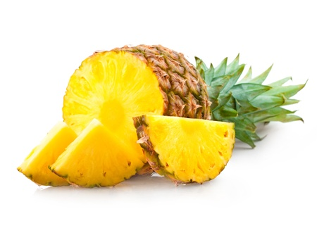cut up: pineapple
