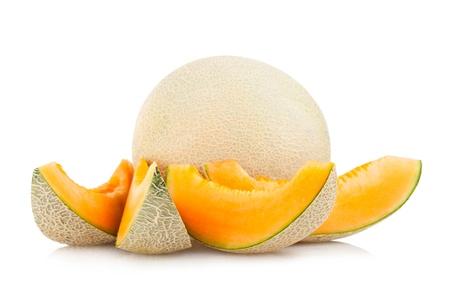 noone: cantaloupe melon Stock Photo