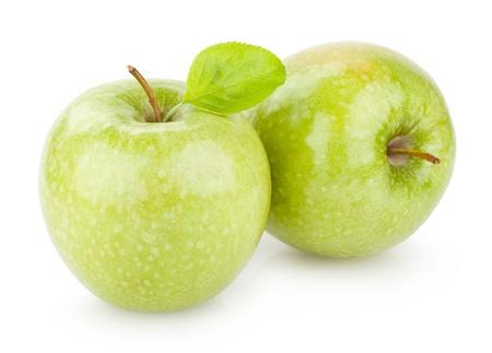 manzana verde: manzanas verdes