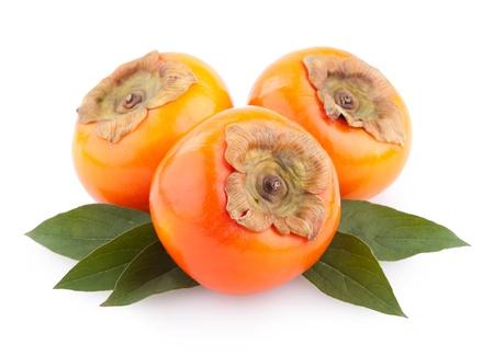 ripe persimmons Standard-Bild