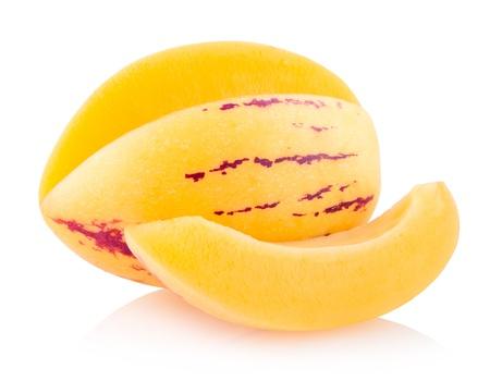 pepino: pepino melon Stock Photo