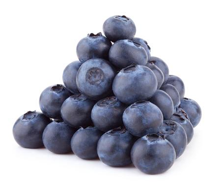 food pyramid: blueberries Stock Photo