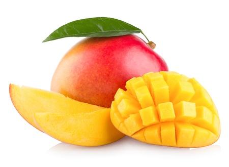 Mango isolato su sfondo bianco Archivio Fotografico - 20300901
