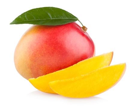 Mango isolato su sfondo bianco Archivio Fotografico - 20300892