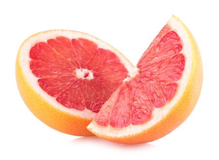 ripe grapefruit slices Standard-Bild