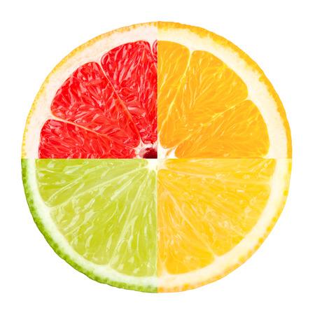 citrus slice Stock Photo