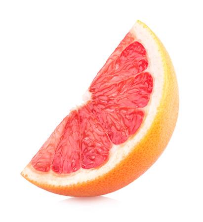 ripe grapefruit slice