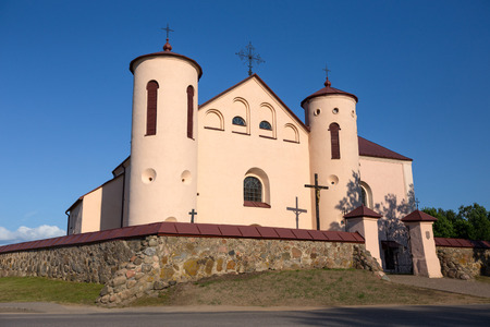 braslav: Old catholic church in Belarus (Kamai)