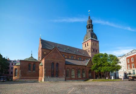 Riga cathedral (Riga, Latvia) Standard-Bild