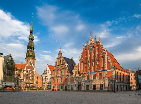 House of the Blackheads (Riga, Latvia) 版權商用圖片 - 32848167