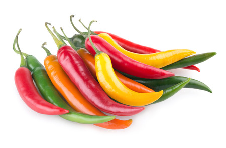 chili pepper: colorful chili peppers