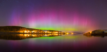 magnetosphere: Aurora Borealis (nothern lights)
