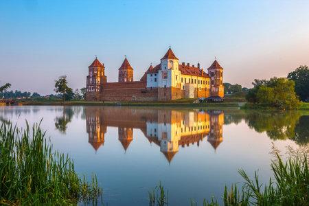 castello medievale: Castello medievale in Mir, Bielorussia Editoriali