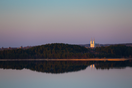 braslav: Evening at Braslau Lakes National Park, Belarus