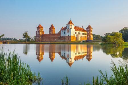 belarus: Medieval castle in Mir, Belarus