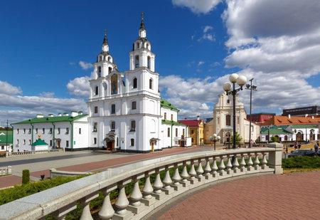 minsk: Historical center of Minsk, Belarus