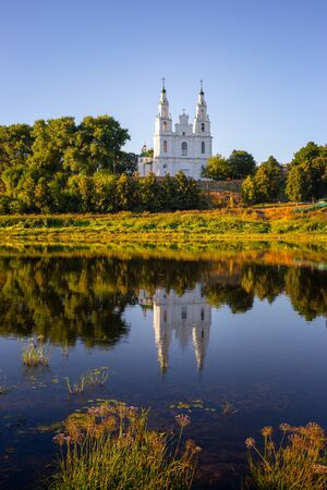 The most famous church in Polack (Belarus) - Sophia Cathedral