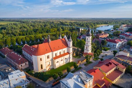 Cathedral catholic church in Pinsk, Belarus