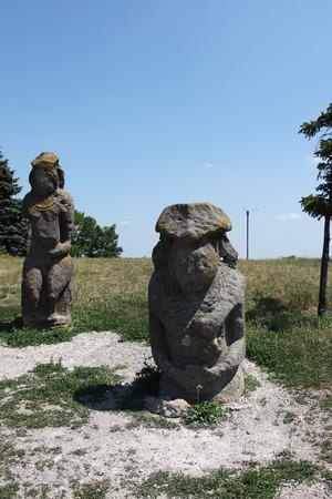 antieke beeldhouwwerken
