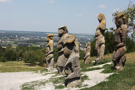 oude sculpturen