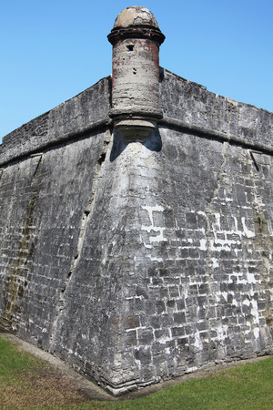 marcos: National monument Castillo de San Marcos in st Augustine