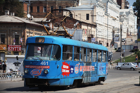 streetcar: streetcar in Kharkov city